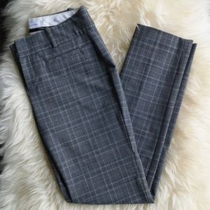 CK Plaid Business/Dress Pants